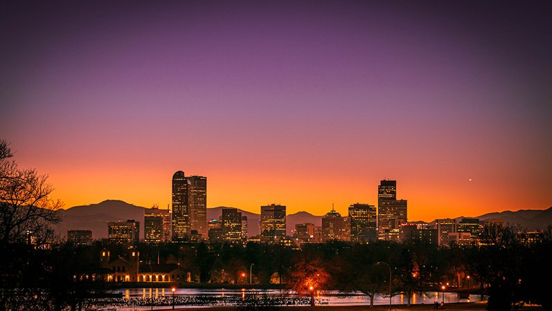Denver-skyline-sunset What | Buyers Can Expect in Denvers Hot Real Estate Market