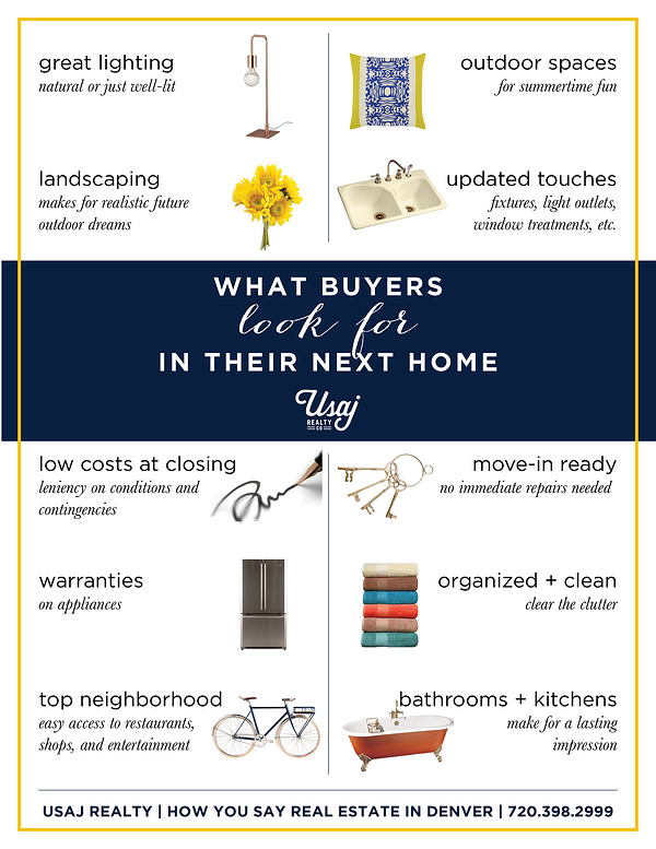 10 Things Buyers Look for When Buying a Home